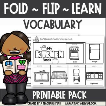 Fold Flip Learn - Vocabulary Books