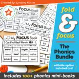Fold & Focus Phonics Bundle - Foldable Mini-Books