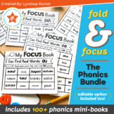 Fold & Focus Phonics Bundle - Foldable Mini-Books