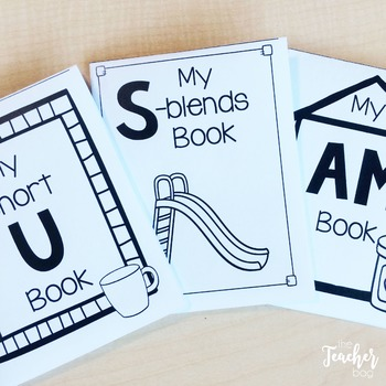 Fold It Books: Short Vowels, Digraphs and Blends