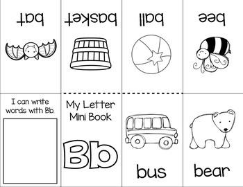 Fold & Read: Alphabet Minibooks