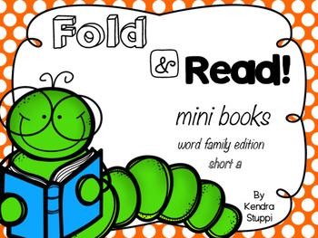 Fold & Read Mini Books {Short a edition)