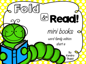 Fold & Read Mini Books {Short e edition)