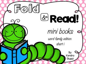 Fold & Read Mini Books {Short i edition)