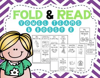 Fold & Read: Vowel Team & Bossy R Minibooks