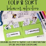 Fold & Sort - Behavior Pack