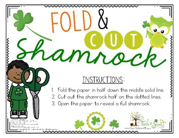 Fold and Cut Shamrock