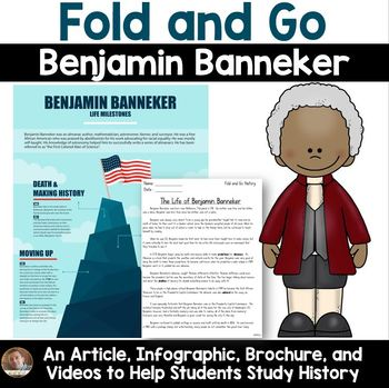 Fold and Go Biography: Benjamin Banneker- Activity for Grades 3-5