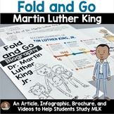 Fold and Go Biography: Martin Luther King Jr. Activity for