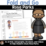 Fold and Go Biography: Rosa Parks- Activity for Grades 3-5