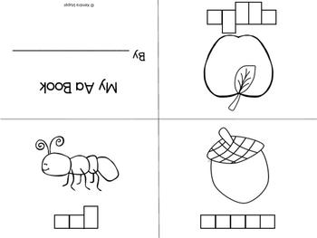 Fold and Read Mini Books - Alphabet Edition