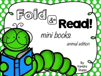 Fold and Read mini books GROWING BUNDLE