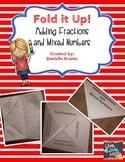 Adding Fractions Foldable Notes