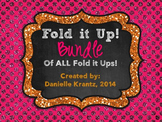 Fold it Up! BUNDLE of Middle School Math Foldable Notes