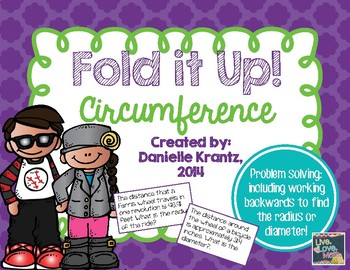 Circumference Foldable Notes