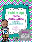 Prime Factorization Foldable Notes