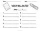 Fold-its: Tri-fold Spelling Practice