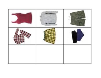 Fold or Hang Clothing Sort