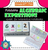 Algebraic Expressions (vocabulary) Foldable