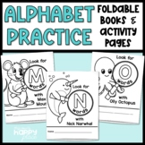 Foldable Alphabet Books and Activity Pages