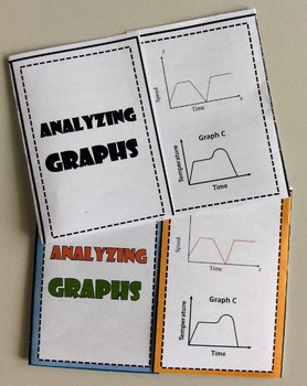Foldable Analyzing Graphs - Represent Two Variables in a Graph