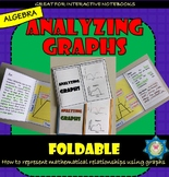 Analyzing Graphs - Represent Two Variables in a Graph Foldable