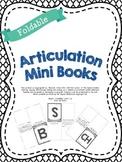Foldable Articulation Mini Books