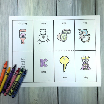 Foldable Articultion Coloring Books