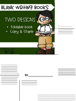 Foldable Blank Book