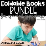 Writing Activity Bundle-Seasonal Writing Prompts, Book Writing Activities