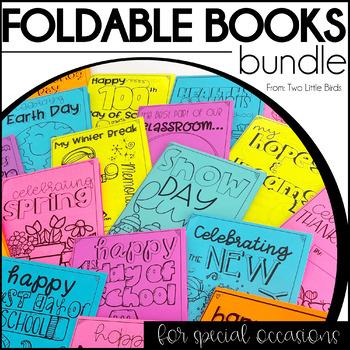 Foldable Book Activities-Memories from Break Bundle