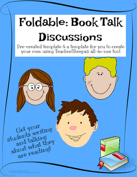 Foldable: Book Talk Discussions