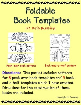 Foldable Book Templates