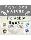 Foldable Book- Thank You Nature