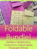Foldable Bundle {For Interactive Notebooks & Alternative Flashcards}