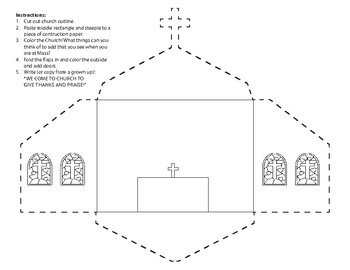 Foldable Church Craft
