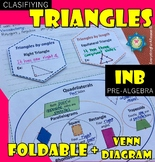 Foldable Classifying Triangles (by angles and by length)