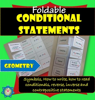 Foldable Conditional Statements