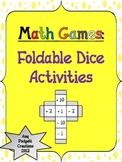 Foldable Dice Activities and Games: Math (Mental Math, Coins)