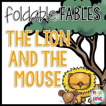 Foldable Fable: The Lion and the Mouse
