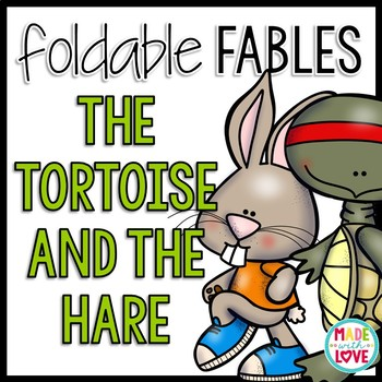 Foldable Fable: The Tortoise and the Hare