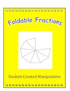 Foldable Fractions Manipulative