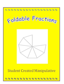 Foldable Fractions Manipulative