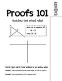 Foldable: Geometry Proofs