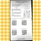 Foldable: Graphs of Quadratics (Graph Vertex, Factored, & Standard Form)