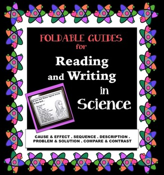 Foldable Guides for Reading and Writing In Science
