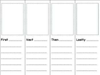 Foldable How-To Booklet Template by Kinder Wonder | TpT