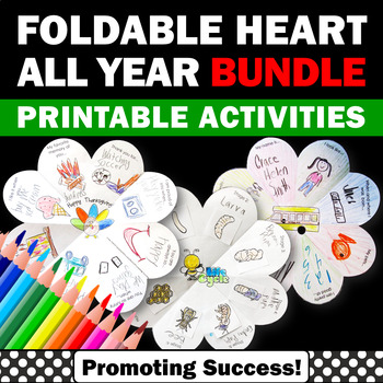 Holiday Crafts BUNDLE, Foldable Interactive Notebooks, Holiday Craftivities