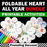 Foldable Interactive Notebook & Printable Cards BUNDLE All