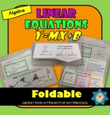 Linear Equations y=mx +b / Slope and y- intercept Foldable